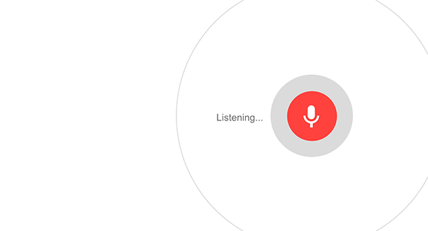 Google Voice Search Animation
