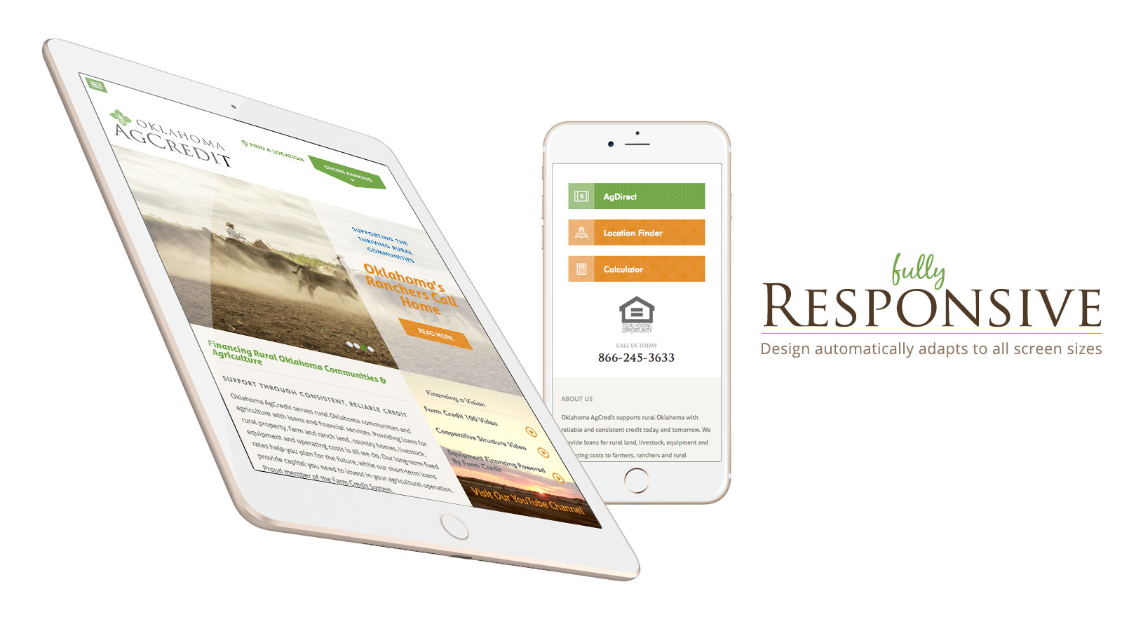 Responsive Website for Oklahoma AGCredit