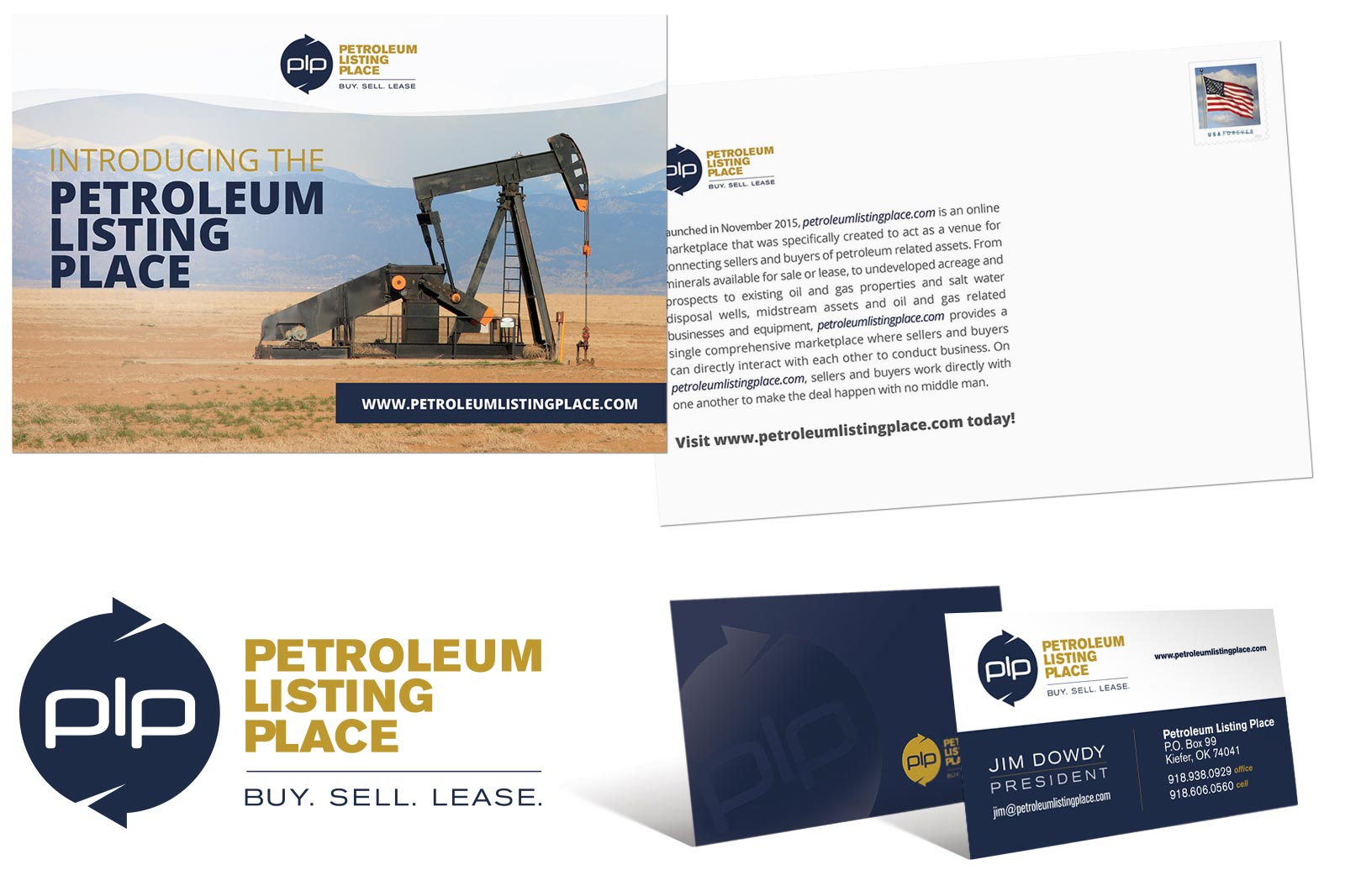 Petroleum Listing Place Print Design by Creative State