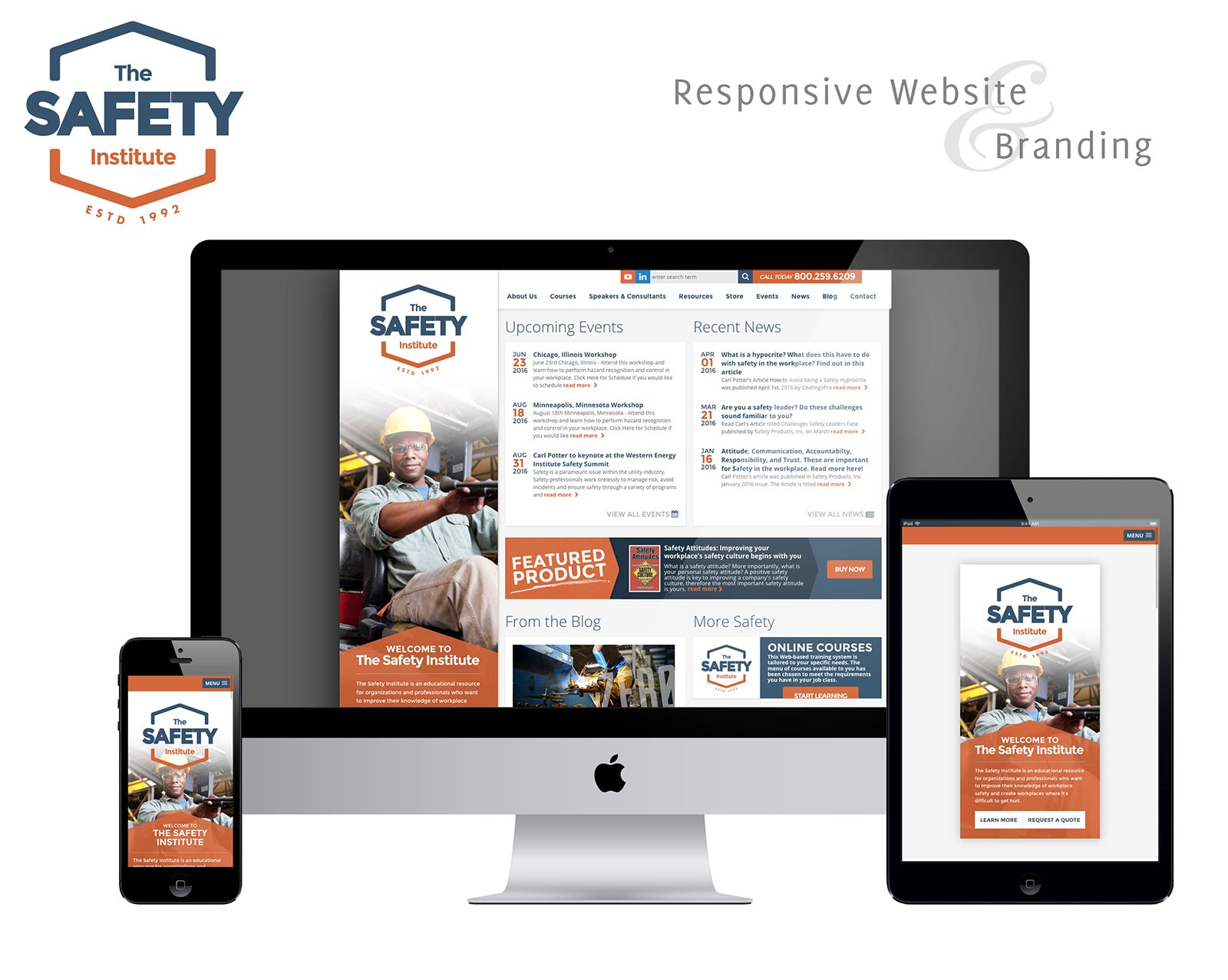 The Safety Institute Responsive Web Design by Creative State